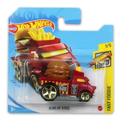 Mattel Hot Wheels fém kisautó Buns Of Steel