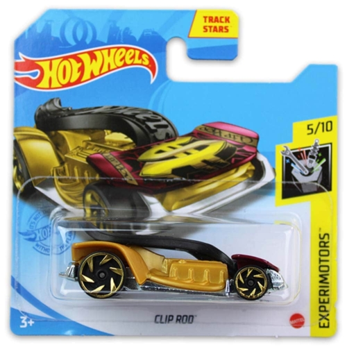 Mattel Hot Wheels fém kisautó Clip Rod
