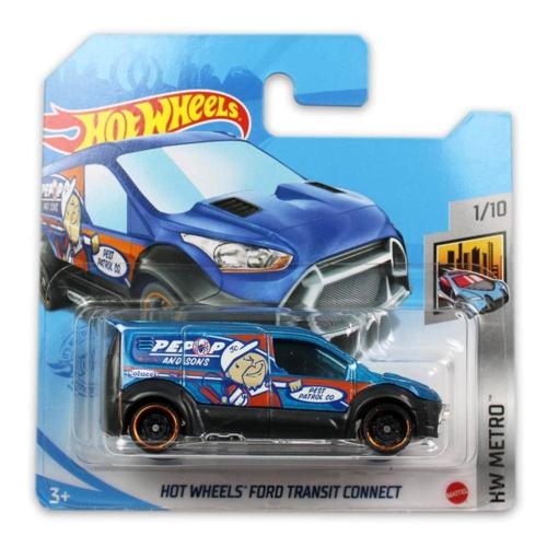 Mattel Hot Wheels fém kisautó Ford Transit Connect