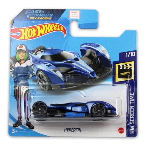 Mattel Hot Wheels fém kisautó Hyperfin