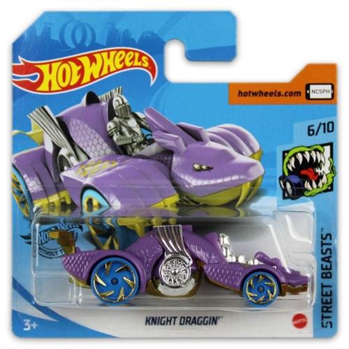 Mattel Hot Wheels fém kisautó Knight Draggin'