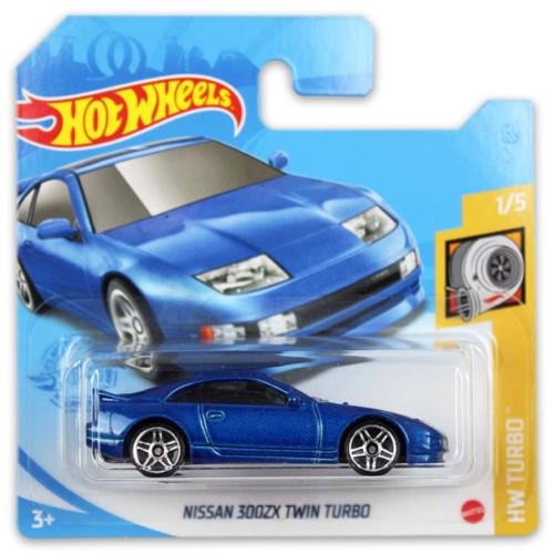 Mattel Hot Wheels fém kisautó Nissan 300ZX Twin Turbo