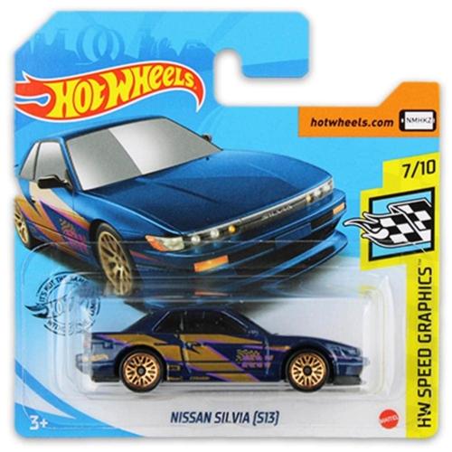 Mattel Hot Wheels fém kisautó Nissan Silvia (S13)