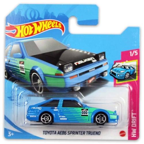 Mattel Hot Wheels fém kisautó Toyota AE86 Sprinter Trueno