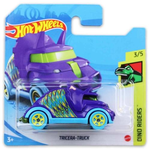 Mattel Hot Wheels fém kisautó Tricera-Truck