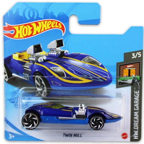 Mattel Hot Wheels fém kisautó Twin Mill