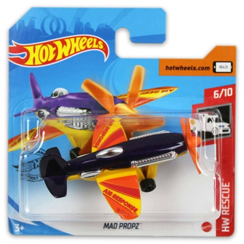 Mattel Hot Wheels fém kisrepülő Mad Propz