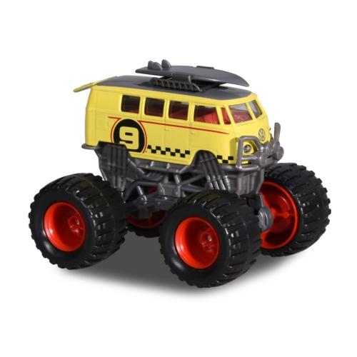 Monster ruckers VW kisbusz sárga-szürke