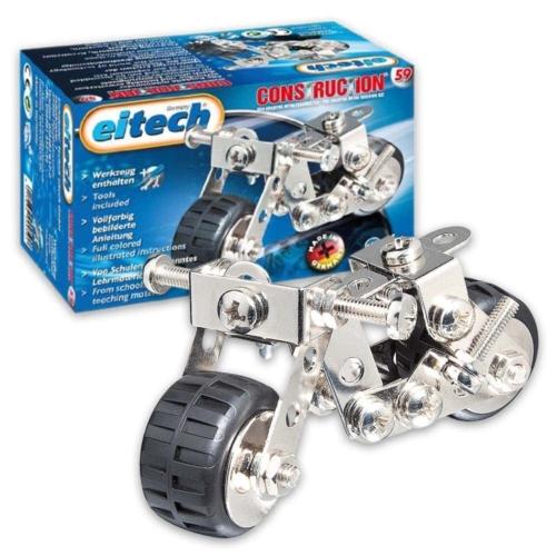 Motor mini építőjáték szerszámokkal fém Eitech