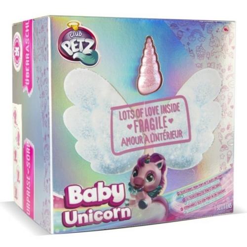 My Baby Unikornis interaktív plüss játék Club Petz