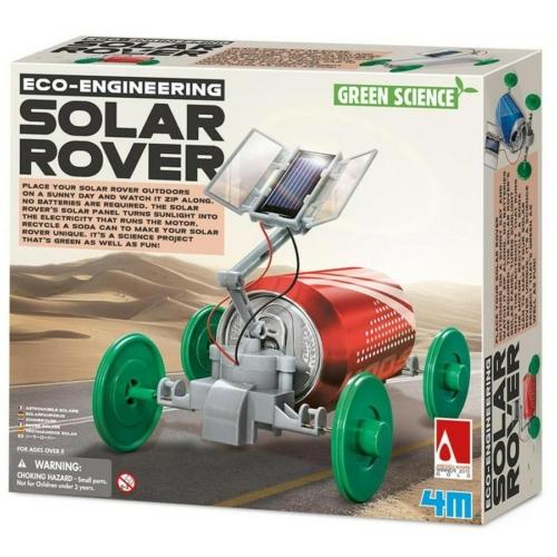 Napelemes autó készítő szett 4M Green Science