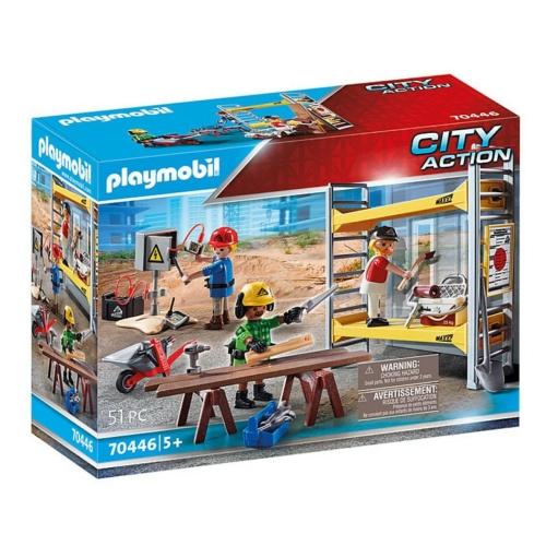 Playmobil City Action Építkezés szett 51 db-os - 70446