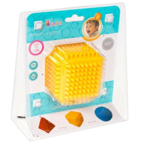 Puha rücsi kocka sárga BamBam
