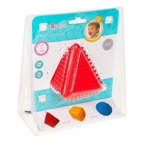 Puha rücsi piramis piros BamBam