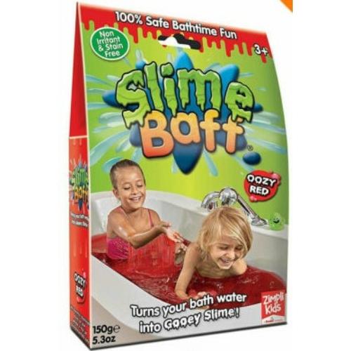 Slime Baff fürdőzselé piros 150 g