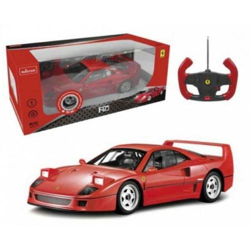Távirányítós autó Ferrari F40 piros RC Rastar 1:14