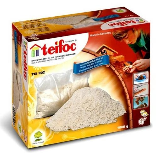 Tégla építőjáték gipsz habarcs ragasztóanyag 1000 g teifoc