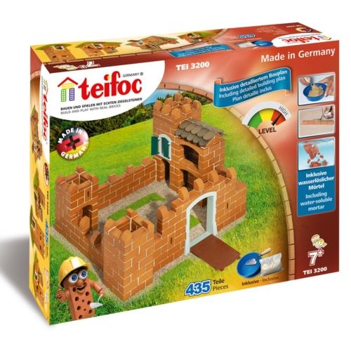 Tégla építőjáték királyi vár szett 435 db-os kiegészítőkkel teifoc