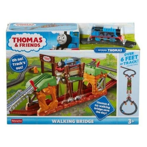 Thomas lépegető híd pályaszett mozdonnyal