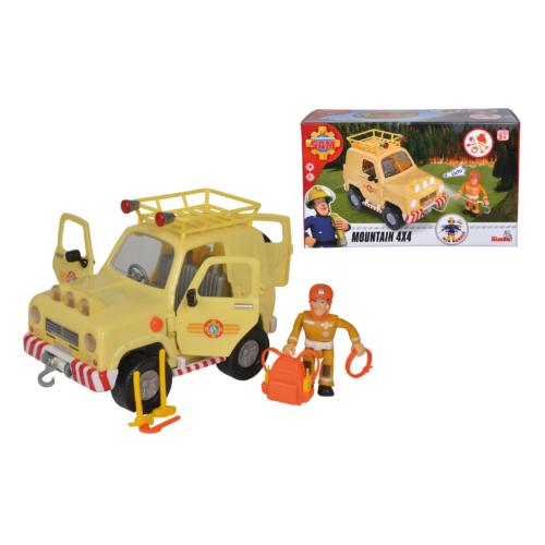 Tom 4x4-es terepjáró autó figurával és kiegészítőkkel