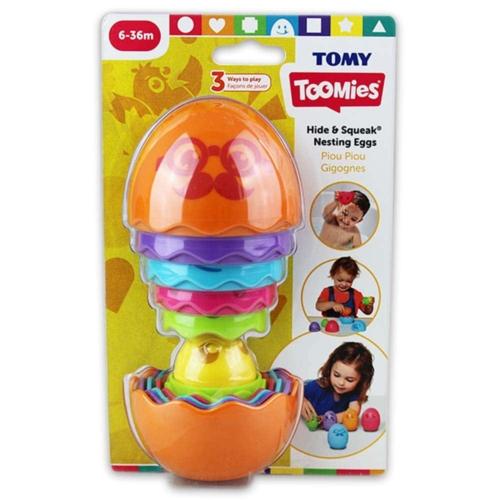 Toomies Kukucska összerakható tojás narancssárga