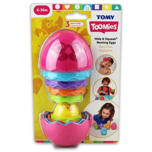 Toomies Kukucska összerakható tojás pink