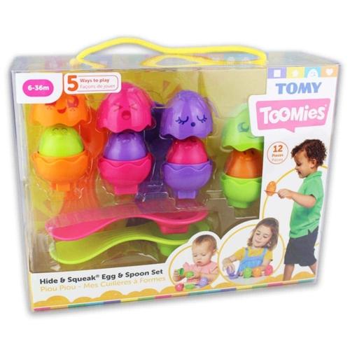Toomies Kukucska tojások kanállal színes