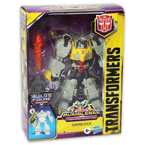 Transformers Bumblebee Cyberverse Adventures Grimlock figura kiegészítőkkel