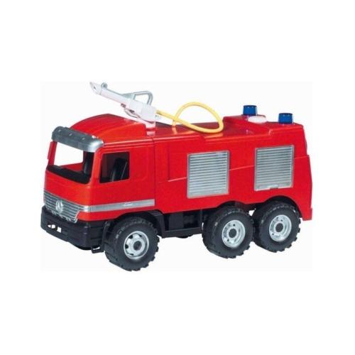 Tűzoltó autó víztartállyal és tömlővel 70 cm
