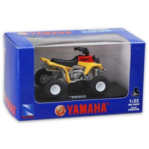 Yamaha Banshee sárga fém quad műanyag borítással 1:32