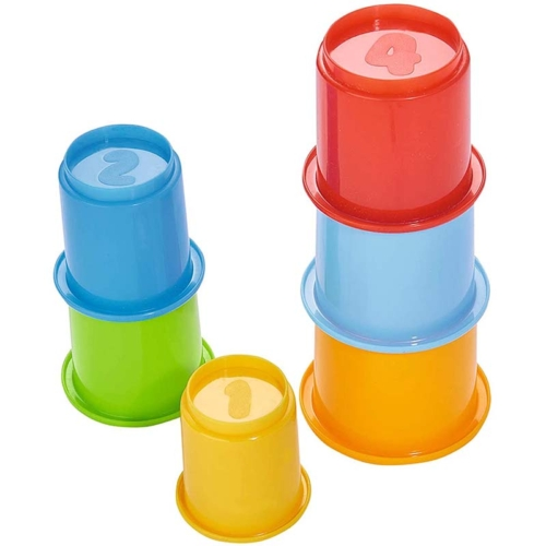 ABC Baby Piramis építőjáték színes műanyag