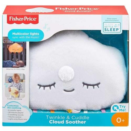 Alvást segítő világító felhő zenével 0+ kortól Fisher-Price