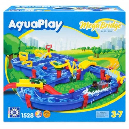 AquaPay MegaBridge vizes játékszett 49 db-os 105x120 cm - 1528