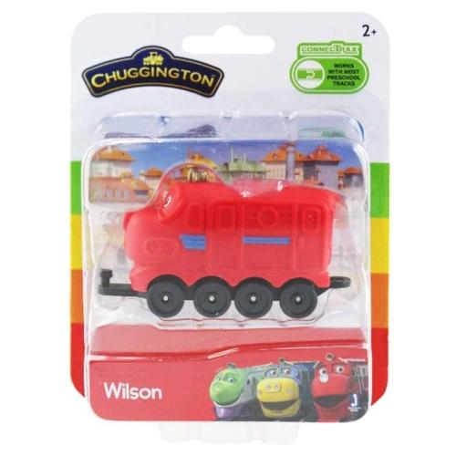 Chuggington Wilson vonat játékfigura