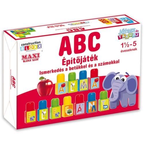 Építőkocka ABC Maxi Bloxx  34 db-os