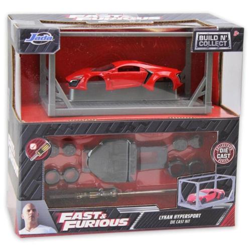 Fast & Furious Lykan Hypersport fém autó készlet