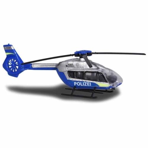 Majorette Airbus H 145 fém rendrőr helikopter