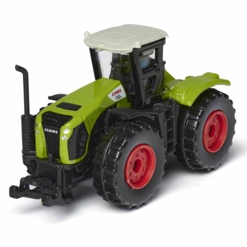 Majorette CLAAS Xerion 5000 fém traktor zöld 1:64