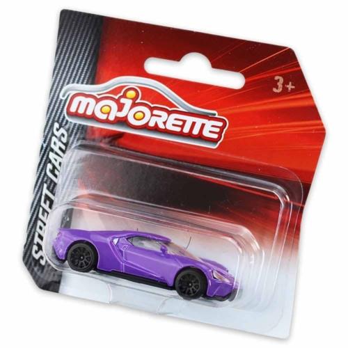 Majorette Ford GT fém kisautó lila 1:64