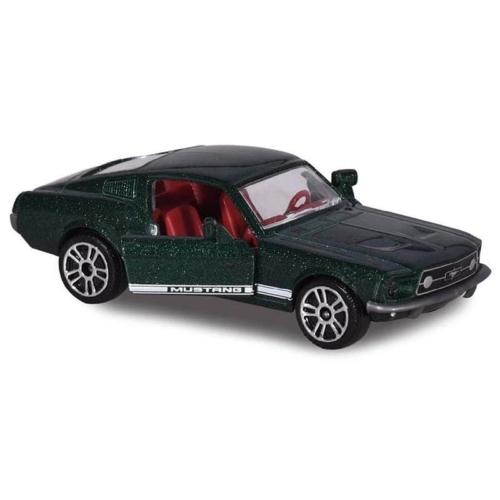 Majorette Ford Mustang 290A-2 fém kisautó sötétzöld 1:64