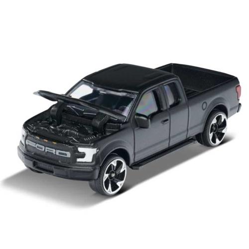 Majorette Ford Raptor 201D-1 fém kisautó matt fekete 1:64
