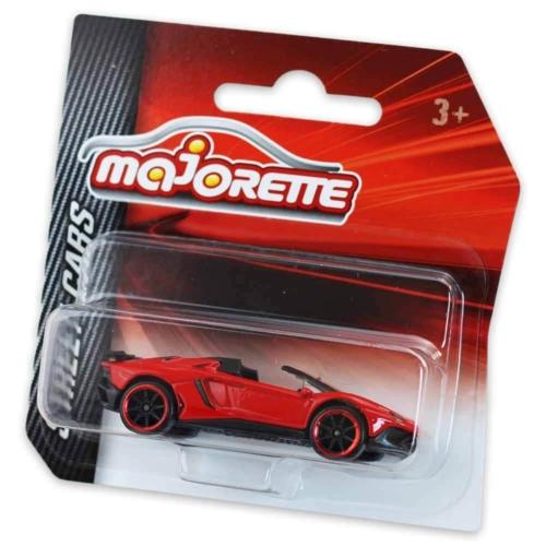 Majorette Lamborghini Aventador CV Roadster fém kisautó piros 1:64