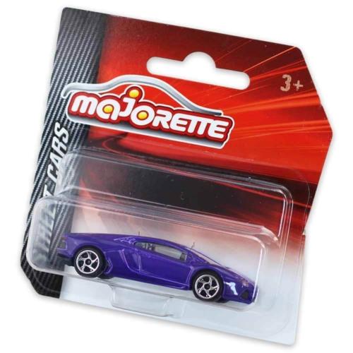 Majorette Lamborghini Aventador fém kisautó lila 1:64
