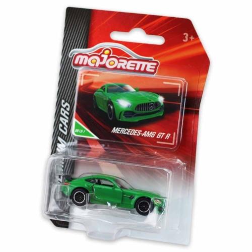 Majorette Mercedes-AMG GT R 9613-1 fém kisautó zöld 1:64