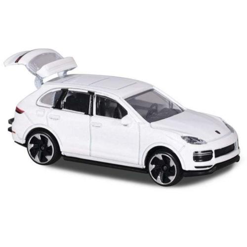 Majorette Porsche Cayenne Turbo S E-Hybrid 209J-1 fém kisautó fehér 1:64