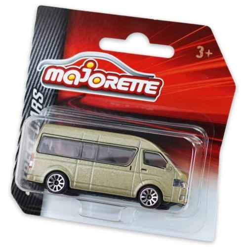 Majorette Toyota Hiace fém kisautó arany 1:64