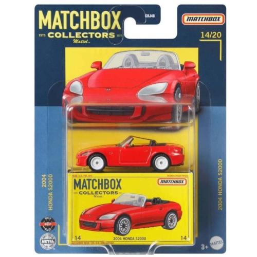 Matchbox Collectors 2004 Honda S2000 fém kisautó piros 14/20