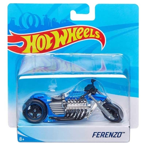 Mattel Hot Wheels fém motor műanyag borítással Ferenzo