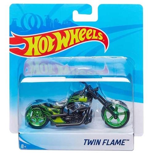 Mattel Hot Wheels fém motor műanyag borítással Twin Flame