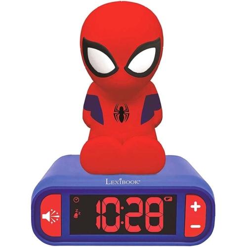 Pókember ébresztő óra hangeffektekkel